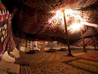 A Bedouin Tent in Siwa Oasis