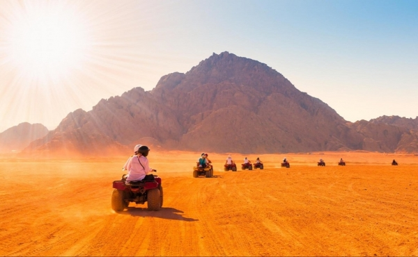 Total Desert Experience from Sharm el Sheikh